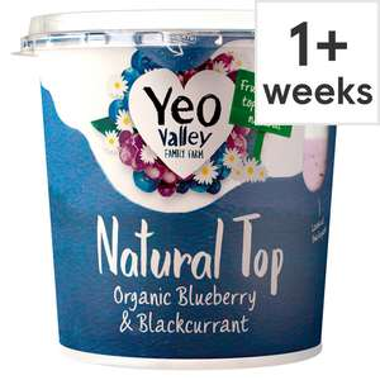 yeo Valley natural top yogurt £1.50 + 50p voucher in magazine + 50p checkoutsmart cashback at Tesco