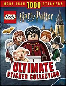 LEGO Harry Potter Ultimate Sticker Collection: More Than 1,000 Stickers £3.99 (Prime) + £2.99 (non Prime) at Amazon