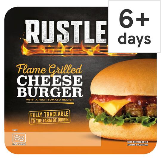 Rustlers Cheese Burger £1 @Tesco