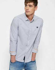 Men's Superdry Slim Fit Shirt £13.59 at eBay Superdry store