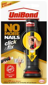 No More Nails Click And Fix for £1 @ Wickes (in-store)