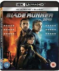 Blade Runner 2049 4k Ultra HD Blu Ray (New) - £8.49 delivered @ sellersmediastoreuk/eBay