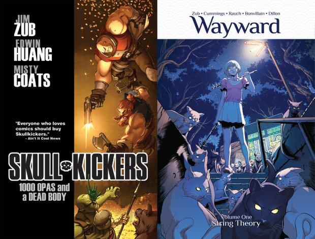 2 Free PDF graphic novels (SKULLKICKERS + WAYWARD) by Jim Zub