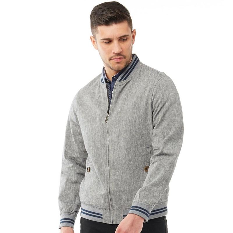 Ted Baker Mens New York Linen Bomber Jacket Grey £31.99 (+£4.99 delivery) @ MandM Direct