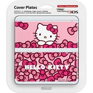 NEW NINTENDO 3DS COVER PLATE - HELLO KITTY £1.95 delivered at The Game Collection