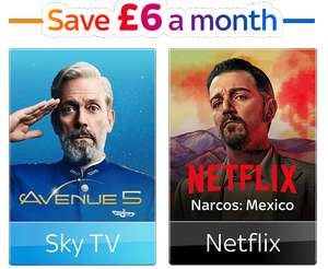 Sky Q ultimate TV package - signature, Netflix, boxsets, SkyGO and Sky Q 1TB box - £25 per month (18 Months) and £20 install (£470 Total)