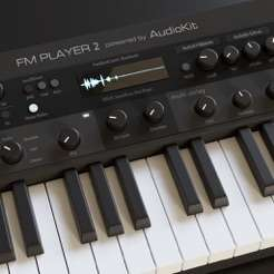 AudioKit FM Player 2 - DX7 synth £1.99 on iOS App Store