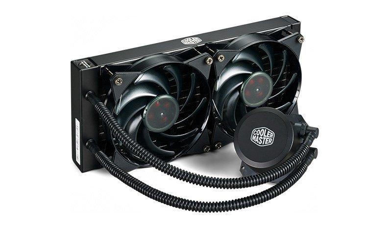Cooler Master MasterLiquid Lite 240 66.7 CFM Liquid CPU Cooler from CCL £39.74 delv