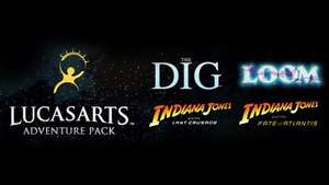 LucasArts Adventure Pack (Indiana Jones: Fate of Atlantis / Last Crusade / Loom / The Dig) £1.95 @ Fanatical