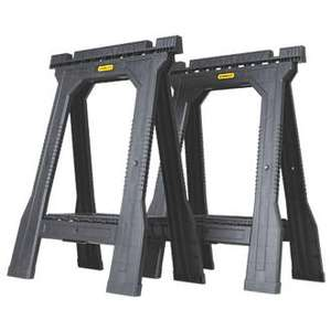 Stanley Folding Junior Saw Horses Pair £19.99 @ Screwfix