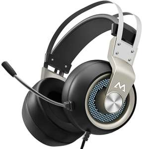 Mpow Gaming Headset £16.99 (+£4.49 non-prime) with voucher Sold by Mpow Store and Fulfilled by Amazon