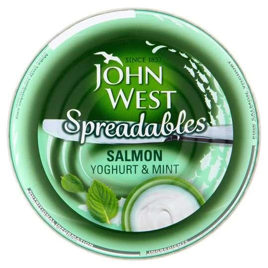 John West Spreadables Salmon Yogurt Mint 80G 49p @ Home Bargains - Kingston Upon Hull