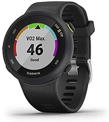 Garmin Forerunner 45 GPS Running Watch with Garmin Coach Training Plan Support - Black, Large £123.56 @ Amazon