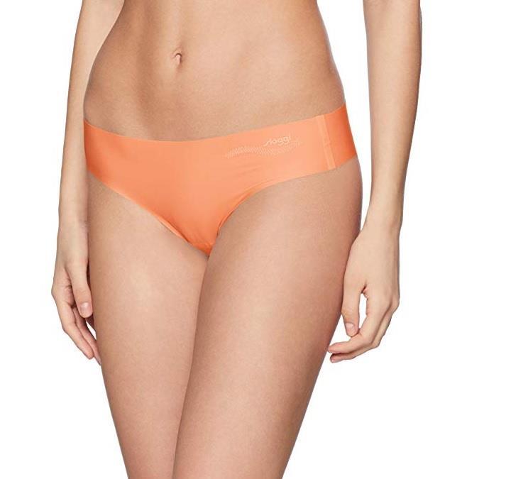 Sloggi Women's Zero Feel Tanga Ex Thong, (Orange 1789), XS £2.67 + £4.49 NP @ Amazon