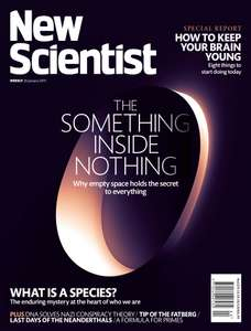 New Scientist (Print + web +app) £314 for 3 years