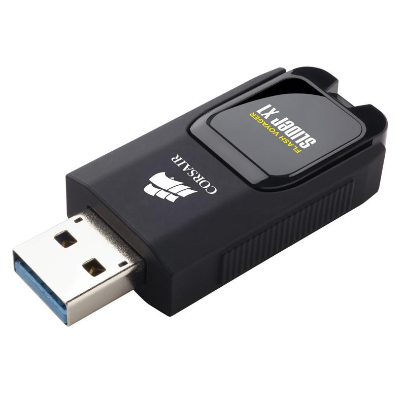 Corsair Flash Voyager® Slider X1 USB 3.0 64GB USB Drive (Manufacturer Refurbished) - £6.95 Delivered @ Mymemory