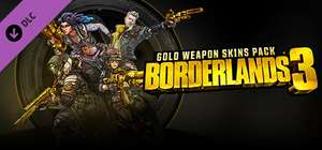 Borderlands 3: Gold Weapon Skins Pack Free @ Steam