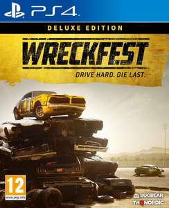 Wreckfest Deluxe Edition (PS4) - lowest ever price £27.99 @ Amazon