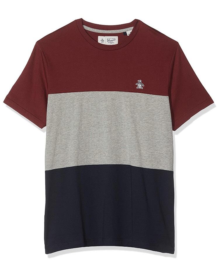 ORIGINAL PENGUIN 4 Men's Colour Block T - Shirt (S) £6.86 + £4.49 NP @ Amazon