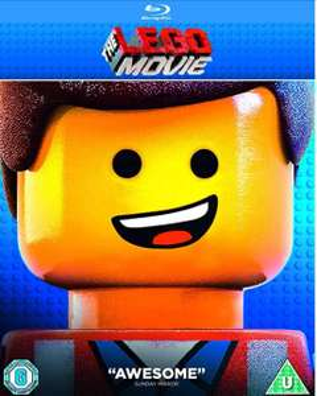 The Lego Movie Blu-ray [2014] [Region Free £2.16 Prime / £5.15 Non Prime @ Amazon