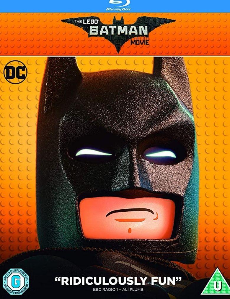 The LEGO Batman Movie [Blu-ray + Digital Download] [2017] £3.07 + £2 NP @ Amazon