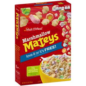 Matey's Marshmallow Cereal £2.00 at Poundland Bedford