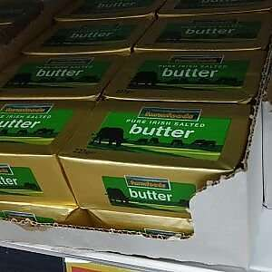 Pure Irish Butter - Salted and Unsalted 99p at FarmFoods Leeds