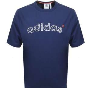 Vintage 90s Adidas Logo Tee (Small size Only) £17.33 at Mainline Menswear