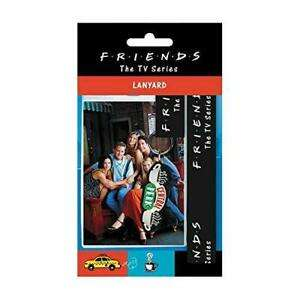 Official Friends Lanyard, Passholder with 3D rubber key ring £3.47 each toptoys2u_ltd eBay