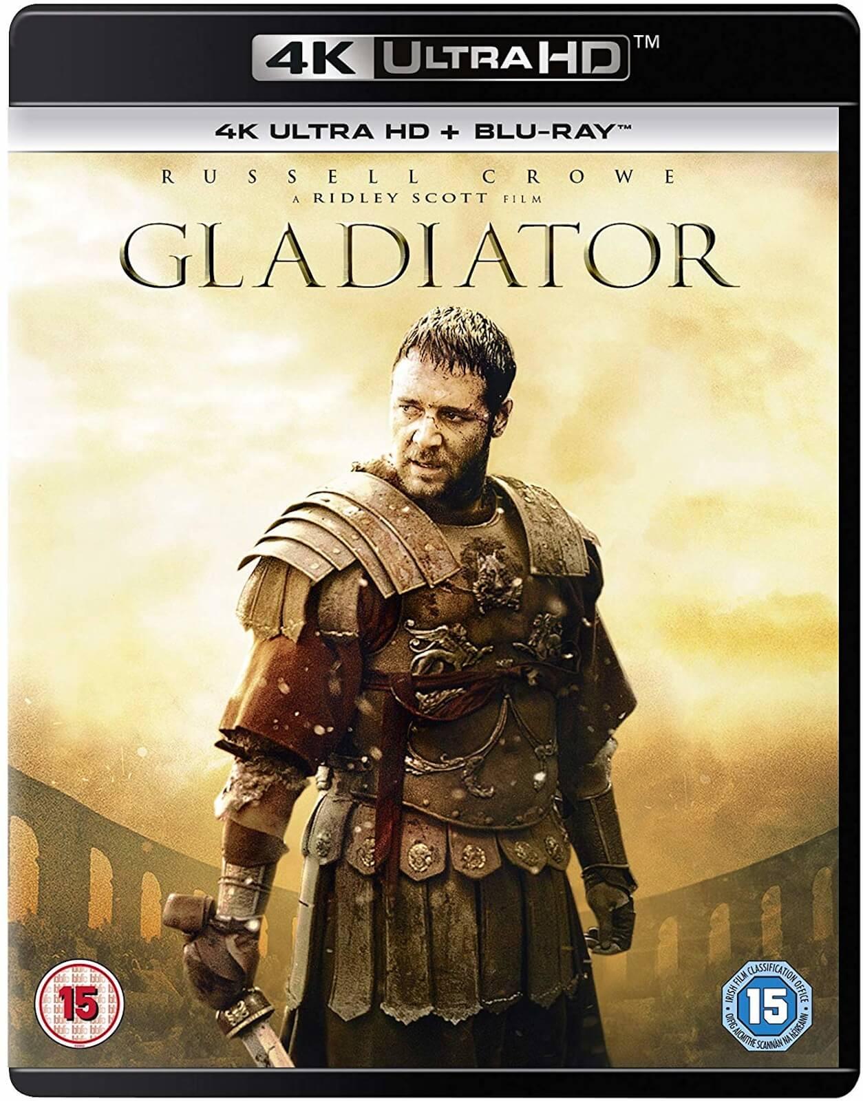 Gladiator 4K UHD £9.99 + £1.99 delivery Zavvi