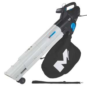 Mac Allister YT623105X 2800W 230-240V Corded Blower Vac £29.99 @ Screwfix (+2 years guarantee)
