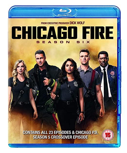 Chicago Fire: Season 6 [Blu-ray] [2018] [Region Free] £13.82 prime / £16.81 non prime @ amazon.co.uk