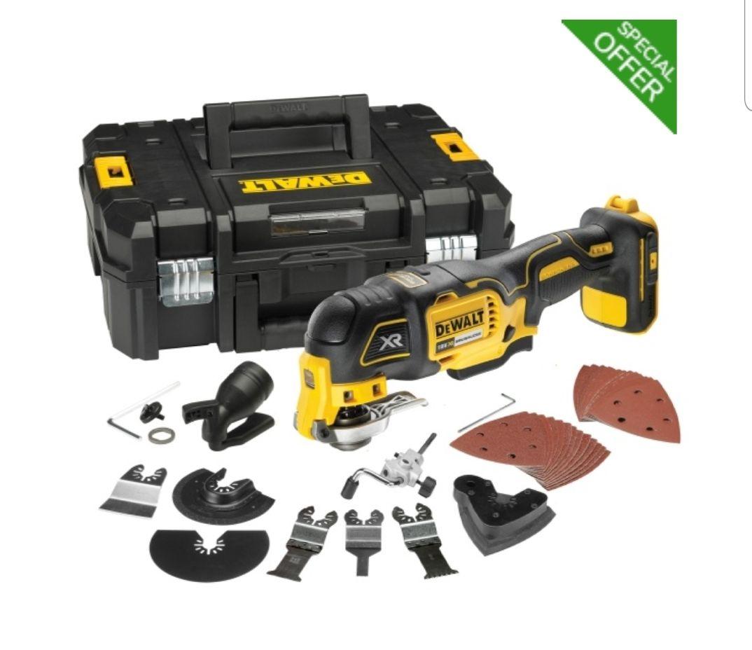 DEWALT DCS355N 18v Multi-Tool + Accessories + TStak 2 BODY ONLY - £88.99 @ ToolStoreUK