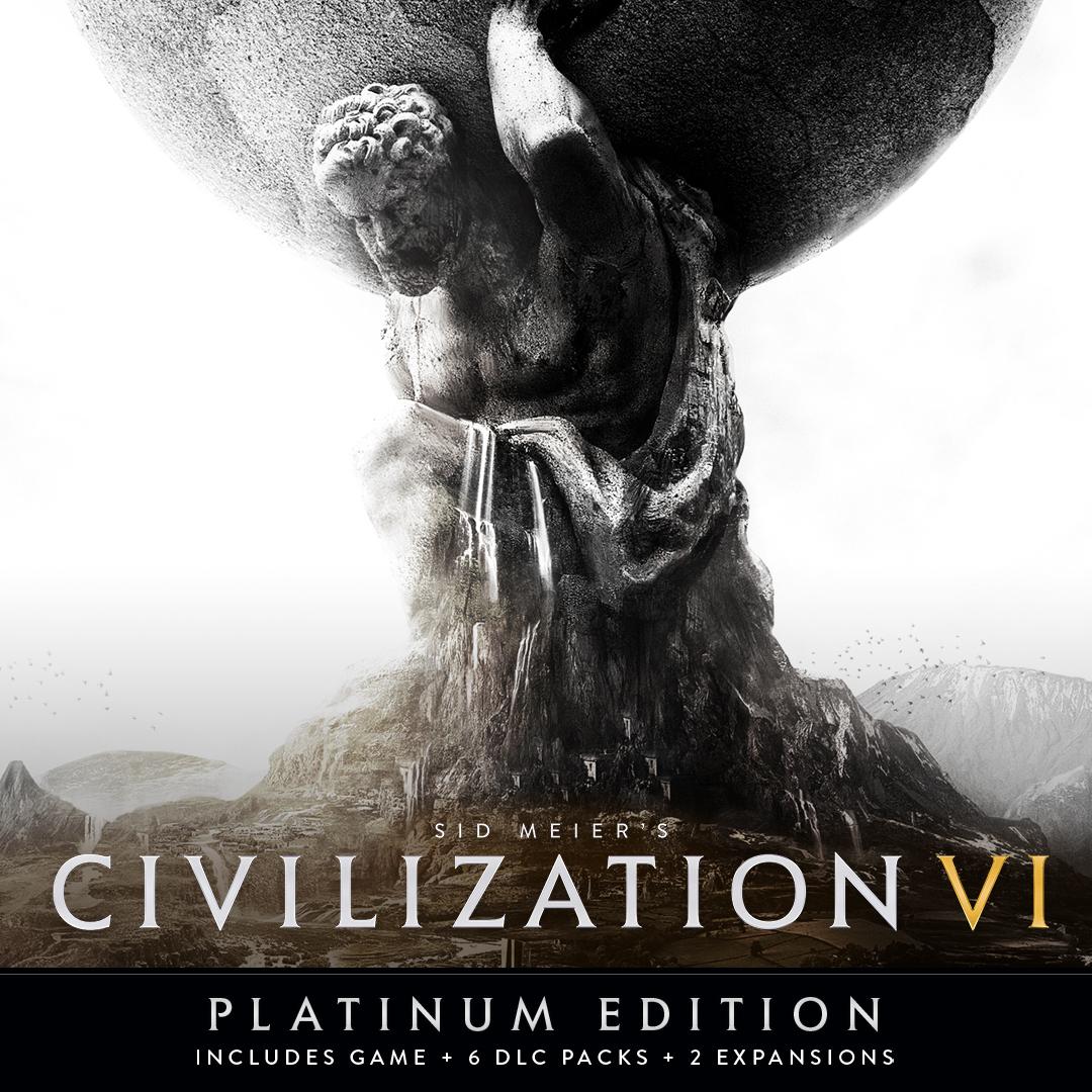 Civilisation VI - Platinum Edition (Steam PC - Main Game + All DLC & expansions) £19.29 @ MacGameStore