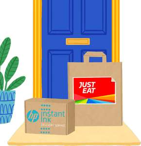 Free Just Eat Upto £30.00 voucher on qualifying HP Printers with HP Instant Ink