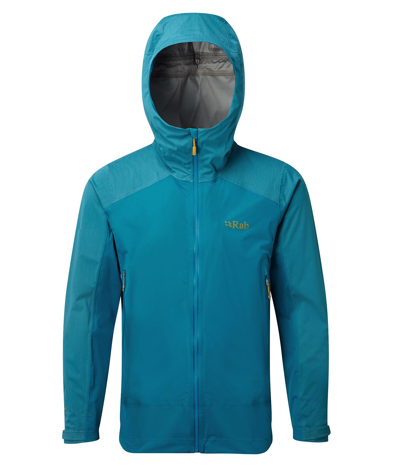 Rab Mens Kinetic Alpine Jacket Azure - £89.25 with code at Trekitt