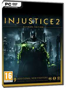 Injustice 2 Ultimate Edition PC Steam Key £5.95 @ MMOGA