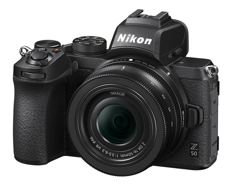 Nikon Z50 Mirrorless Camera & 16-50mm f3.5-6.3 VR NIKKOR Z DX £899 at CameraWorld