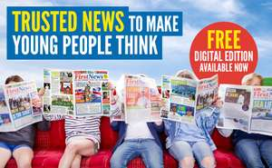 First News (Kids Newspaper) Free for a limited period - useful for home schooling/school closures