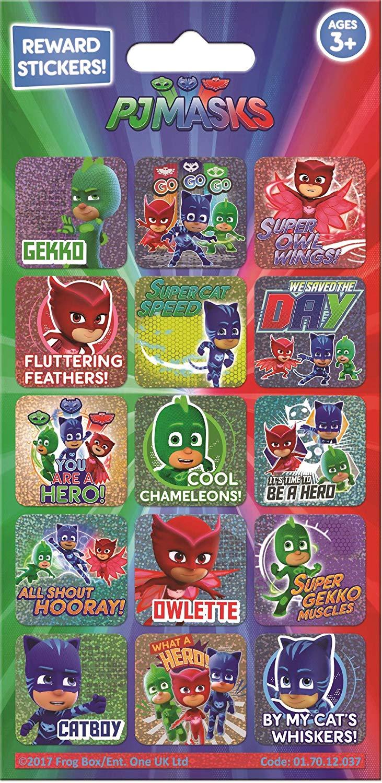 Paper Projects 01.70.12.037 PJ Masks Foil Reward Sticker Pack £0.62 @ Amazon Prime / £5.11 Non Prime