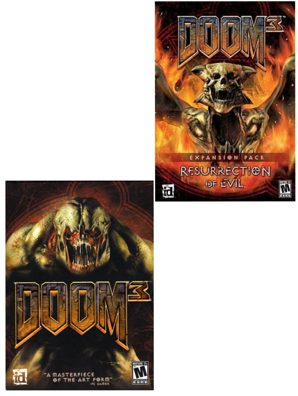 [Steam] DOOM 3 (PC) - 90p / Resurrection Of Evil Expansion - 56p with code @ Voidu
