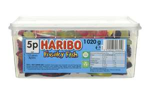 Haribo Freaky Fish 1kg - Now £4.47 (minimum of 2 = £8.94) - (+£4.49 Non Prime) @ Amazon