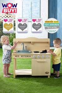 Award Winning Mud Kitchen with Water Function £39.99 @ Studio