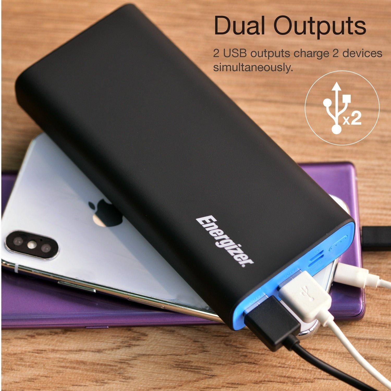 Energizer Max Polymer 20000mAh Portable Powerbank - Black £29.99 @ Argos
