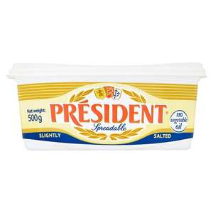 President Spreadable Slightly Salted 500g £1.69 @ Heron Foods Abbey Hulton