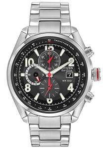 Citizen Eco-Drive Black Dial Men's Watch CA0368-56E, £99.99 delivered at TK Maxx