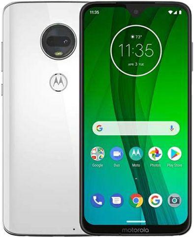 Motorola G7 (XT1962-4) Dual Sim 64GB Clear White, Unlocked B Condition £95 @ Cex