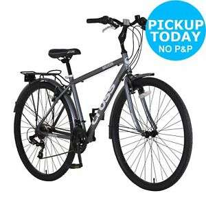 Men's Cross Malvern 700c Hybrid Bike in grey for £139.99 click & collect @ eBay / Argos