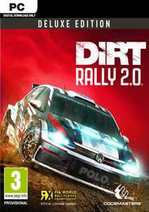 DiRT Rally 2.0 Deluxe Edition PC (Steam) - £9.99 @ CDKeys
