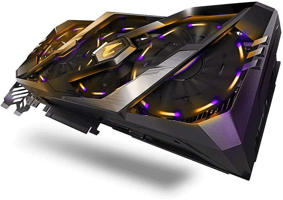 Gigabyte GPU NV RTX2080 Aorus 8G Fan £599.99 at Amazon